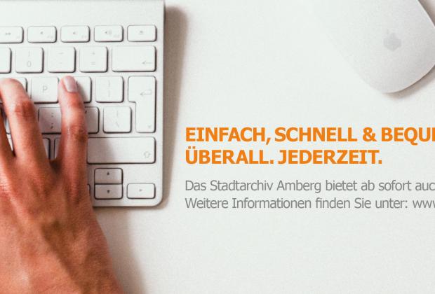 Erste Inhalte aus Amberg online verfügbar