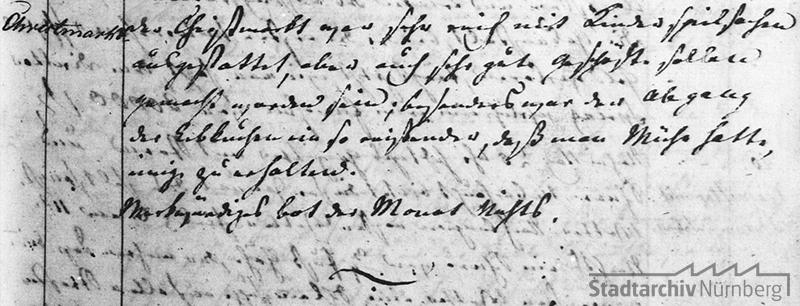 Die Stadtchronik Nürnberg berichtet über den guten Verlauf des Christkindlesmarkts 1862, besonders Lebkuchen waren gefragt. Quelle Stadtarchiv Nürnberg