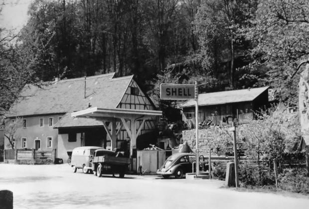 Tankstelle am Schloßberg