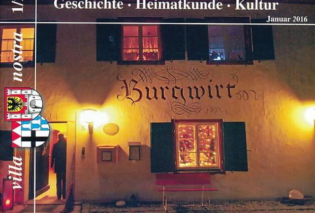 Titelseite der neuen Ausgabe (Stadtarchiv Weißenburg i. Bay.)