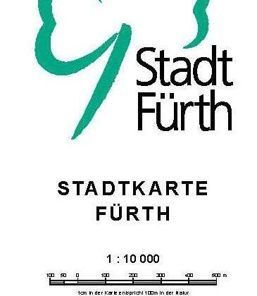 Stadtteilgrenzen Fürth - Legende