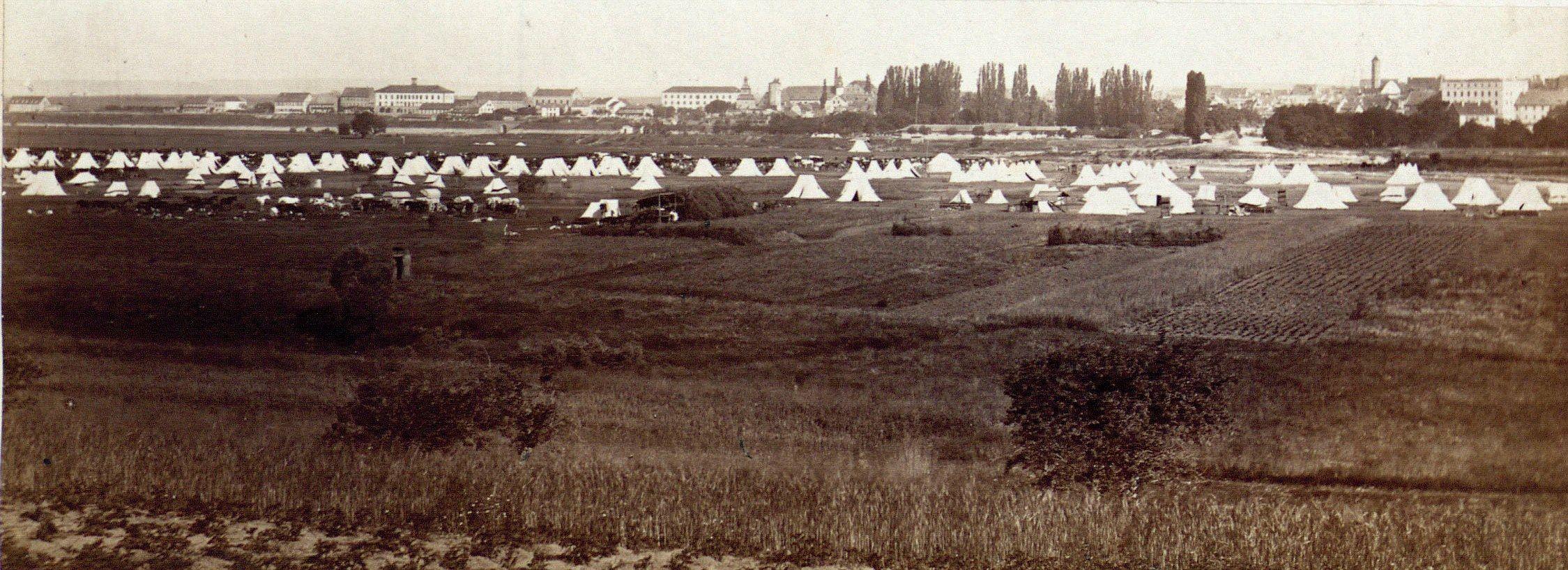 Truppenlager Mainwiesen Schweinfurt