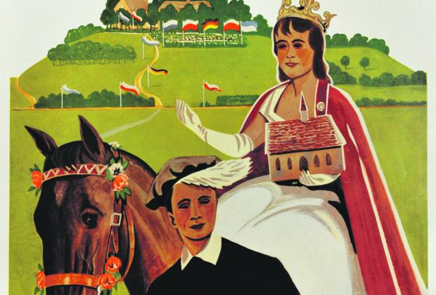 Friedrich Ulrich, Kunigundenfest-Plakat aus dem Jahr 1964.