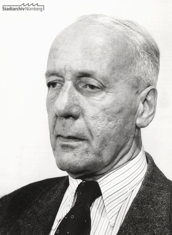 Foto von Ludwig Ritter von Rudolph, 28. Oktober 1954