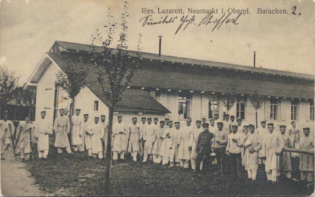 Feldpostkarte des Sanitätsgefreiter Heinrich Schifferl 1916 Stadtarchiv Neumarkt, Kartensammlung PK 570