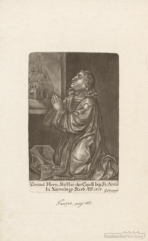 Kunz Horn, Stifter der St. Anna-Kapelle in Nürnberg