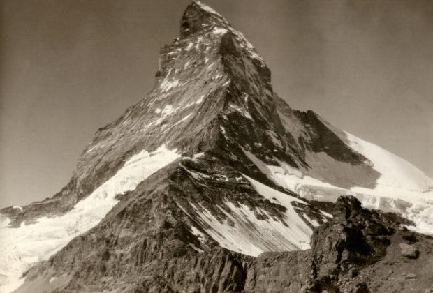 Matterhorn vom Hörnli. Sommer 1926.