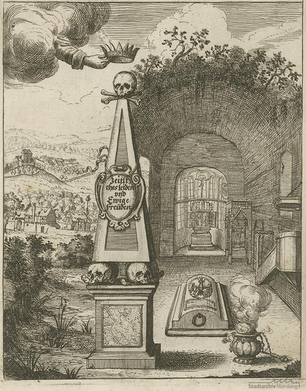 Starck`sche Gruft auf dem Johannisfriedhof.