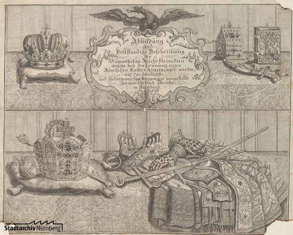 Abbildung der Reichskleinodien