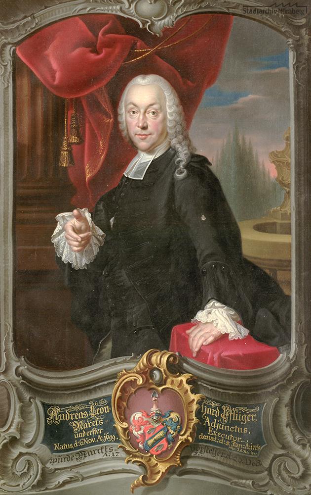 Beispiel eines Marktvorstehers: Andreas Leonhard Pflüger