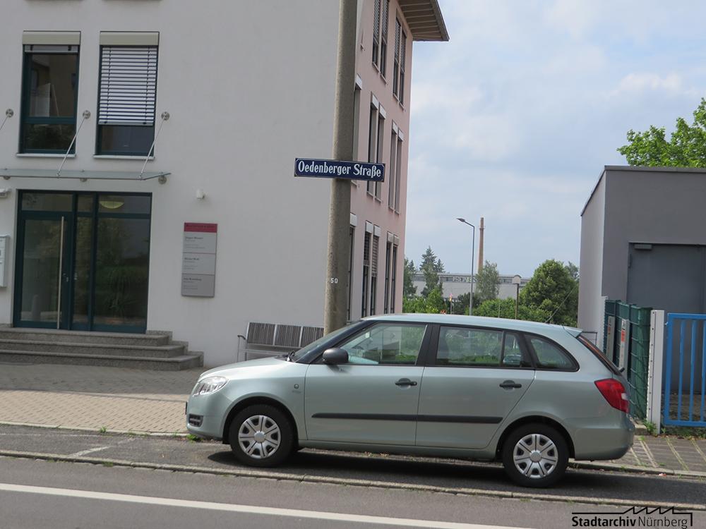 Straßenschild Ödenberger Straße
