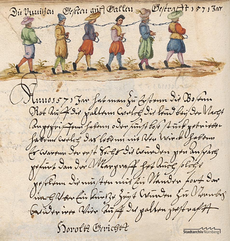 Nürnberger Galeerensklaven
