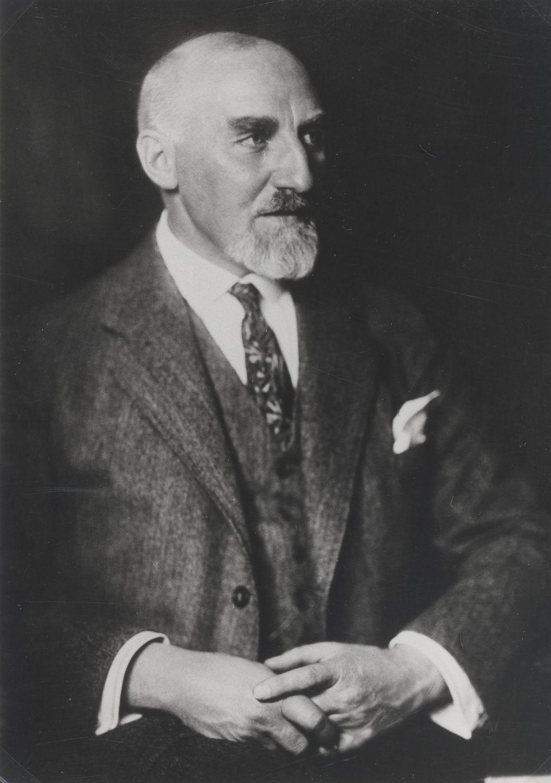 Porträt von Hermann Jansen