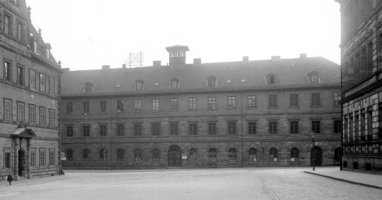 Das Gebäude Bauhof 2, in dem auch Einrichtungen der Hochschule untergebracht waren
